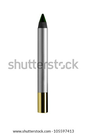 Cosmetic pen isolated on white - stock photo