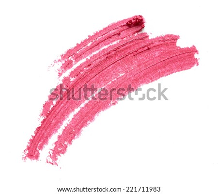 Cosmetic pencil isolated on white background - stock photo