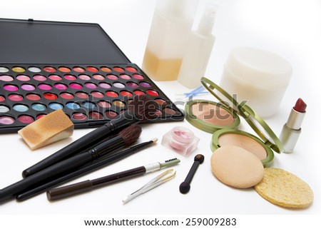 Cosmetics Set - stock photo