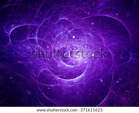 Cosmic abstract background - stock photo