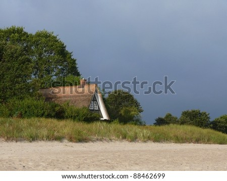 Cottage - stock photo