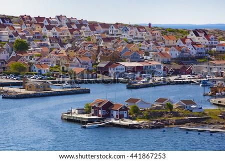 Cottage in Sweden, Scandinavia  - stock photo