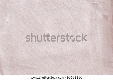 Cotton canvas background - stock photo