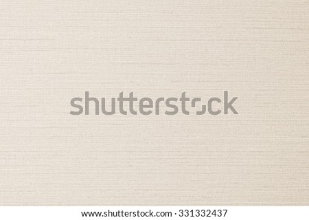 Cotton silk fabric wallpaper texture pattern background in light pastel sepia cream brown color tone: Fine natural Thai silk detail pattern textured textile backdrop in beige creme toned colour      - stock photo