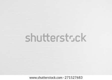 Cotton silk texture background in white light grey tone : White color cotton silk linen fabric natural textile (Light source from right-hand)  - stock photo