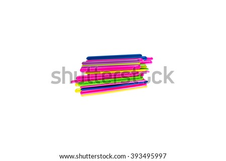 counting sticks - stock photo