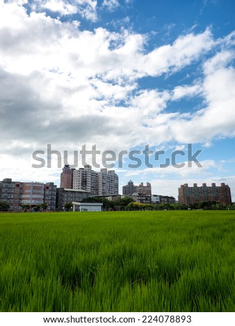 country in Taiwan - stock photo