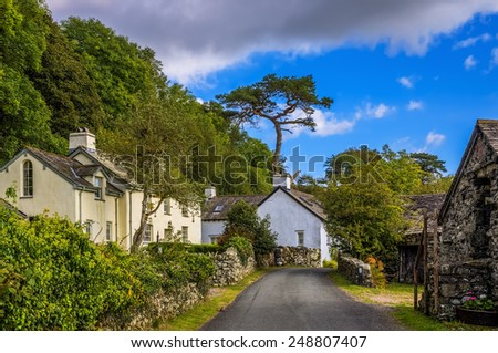 Country Lane - stock photo