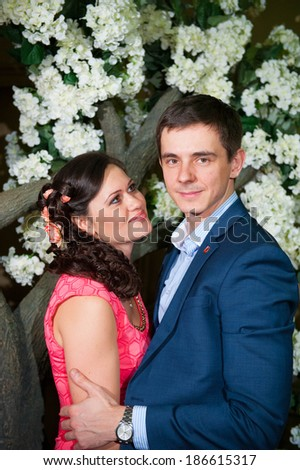 couple in lowe - stock photo