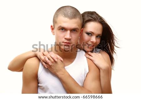 Couple Sexy - stock photo