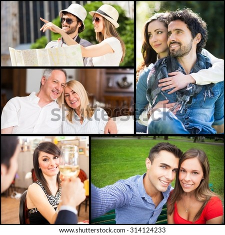 Couples spending their time together - stock photo
