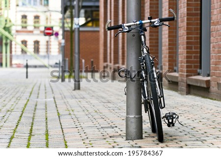 courier service - stock photo