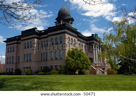 Courthouse Great Falls Montana - stock photo