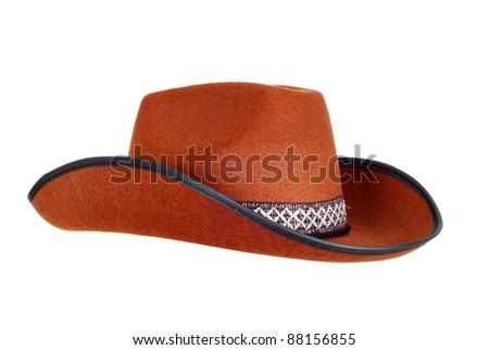Cowboy hat - stock photo