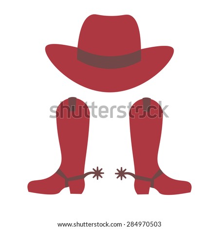 Cowboy Hat And Boot Silhouette Cowboy Hat And Cowboy Boots