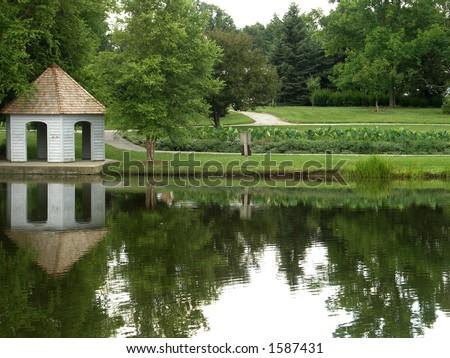 Cox Arboretum  Dayton, OH - stock photo