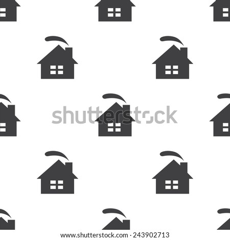 cozy home, seamless pattern, can be used for web page backgrounds, pattern fills   - stock photo