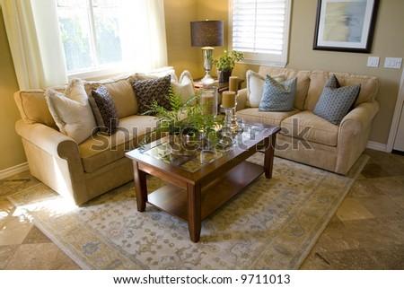 Cozy living room. - stock photo