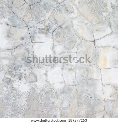 Cracked cement wall background - stock photo