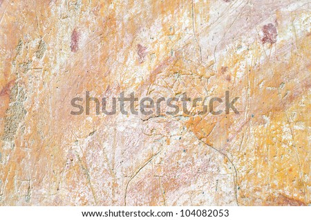 Cracked surface wall - stock photo