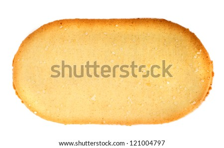 Crackers on a white background - stock photo