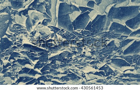 Cracks abstract textured paper background. Textured old paper background with image of desert soil cracks texture. - stock photo