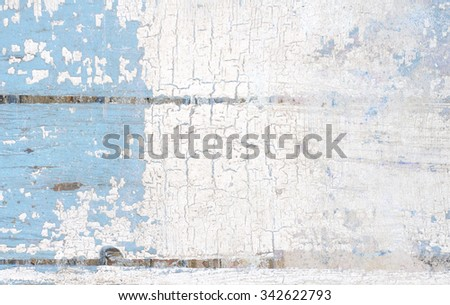 Cracks and stains on a vintage textured background - stock photo