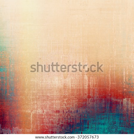 Cracks and stains on a vintage textured background. With different color patterns: yellow (beige); red (orange); blue; purple (violet); pink - stock photo