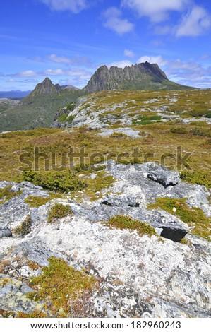 Cradle Mountain National Park, Tasmania Australia - stock photo