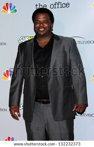 "Craig Robinson at ""The Office"" Series Finale Wrap Party, Unici Casa, Culver City, CA 03-16-13 - stock photo"
