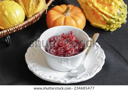Cranberry relish - stock photo