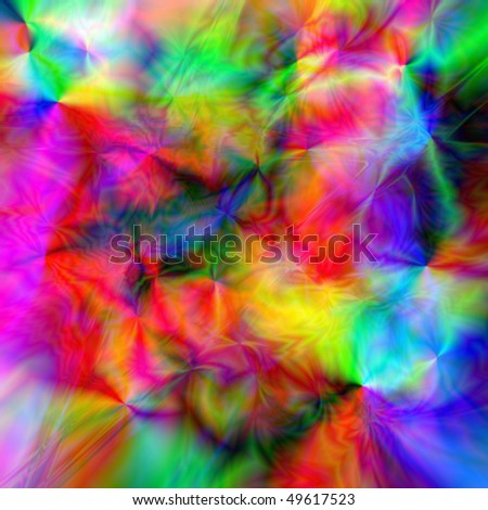 crazy psychedelic background - stock photo