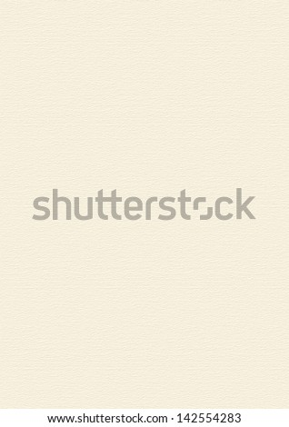 Cream, Beige Paper Texture Background with a soft horizontal texture - very large format - stock photo