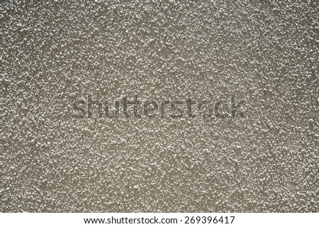 cream colour mortar wall texture - stock photo