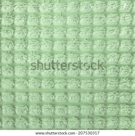 Cream coloured carpet background, close up - stock photo