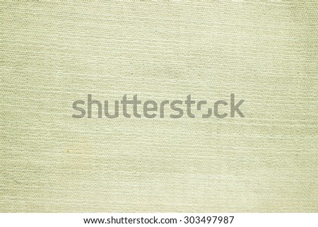 Cream fabric texture for background. - stock photo