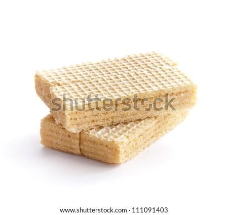 Cream Wafer Bars - stock photo