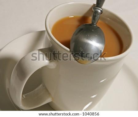Creamed Coffee - stock photo