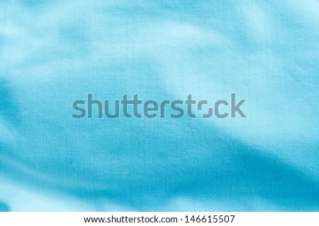 creased canvas textile - stock photo