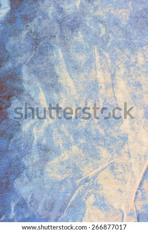 creased material background - stock photo