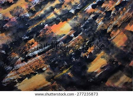 Creative background or Black art background - stock photo