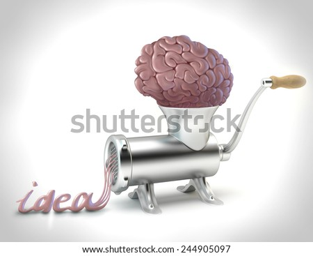 Creative concept idea - stock photo