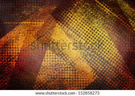 creative graphic art image - stock photo