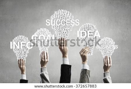 Creative ideas - stock photo