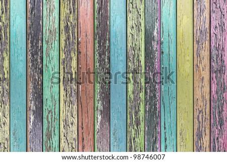 Creative Wood Background - stock photo