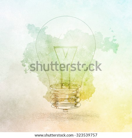 Creativity and Business Innovation as a Concept - stock photo