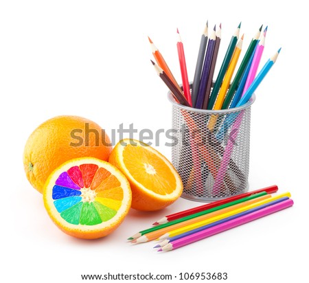 creativity concept - stock photo