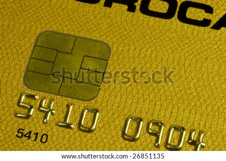 Credit card - stock photo