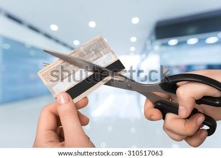 Credit Card. - stock photo