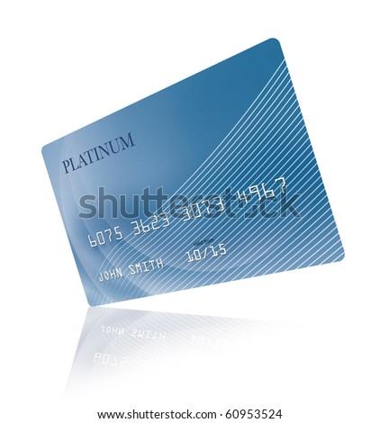 Credit card - stock photo